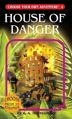 House of Danger By Montgomery, R. A.